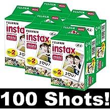Fujifilm Instax Película para Instax Mini 8, Mini 90, 5 x 20
