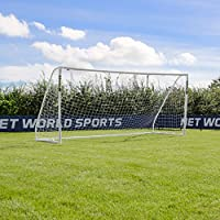 FORZA Match Football Goal - 16ft x 7ft - Top Quality uPVC Junior Matchday Football Goal [Net World Sports]
