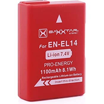 Dste En El14 Rechargeable Li Ion Battery For Nikon Amazon Co Uk