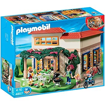 Playmobil 4857 summer fun family holiday home for Extension maison pas chere