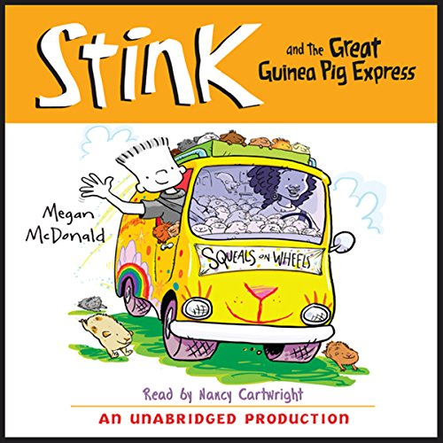 Stink and the Great Guinea Pig Express: Book #4
