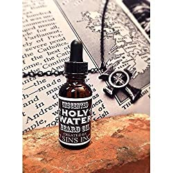 7 Sins Beard OIL Holy Water 1 Fluid Ounce Unscented Beard Oil Dropper Top