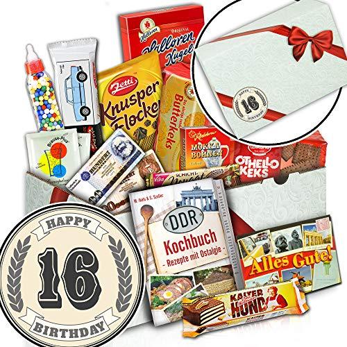 Geschenke 16. Geburtstag | Suesses Geschenkset DDR | 16 Geburtstag Geschenk Idee (Ideen 16 Geburtstag Süß)
