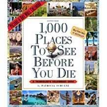 1,000 Places to See Before You Die Calendar