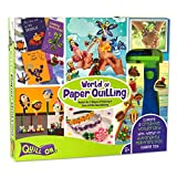 #10: World of Paper Quilling - Fun Craft Kit - Complete Quilling Set for Beginners - Contains: Automated Quilling Tool, Quilling Board, Quilling Mould, 550 Quilling Strips and 120 Pages Quilling Book; Perfect Gift for Girls and Boys of 8 Years and above and for adults