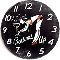 OROLOGIO DA PARETE DESIGN BOTTOMS UP