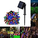 Best Improvements String Lights - Tcoolgroup String Lights, Solar Powered 100 LEDs String Review