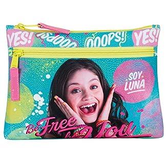 Soy Luna Portatodo Disney Be Free doble cremallera
