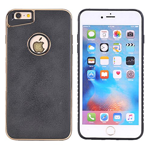Preisvergleich Produktbild 4,7'' iPhone 8 Backcover, TechCode Schutz Slim Fit Cover Fall Mode Bumper Case Abdeckung Schutzhülle Tasche für iPhone 8 4,7 zoll(iPhone 8, Schwarz)