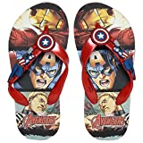 Best Flip-flops - Marvel Boy's Captain America Red Flip-Flops-13 Kids UK/India Review