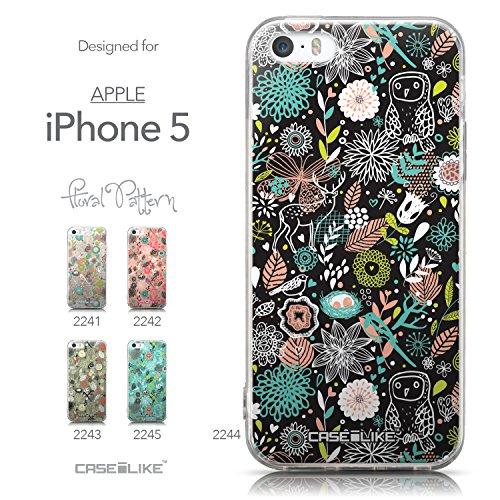 CASEiLIKE Comic Beschriftung 2914 Ultra Slim Back Hart Plastik Stoßstange Hülle Cover for Apple iPhone 5G / 5S +Folie Displayschutzfolie +Eingabestift Touchstift (Zufällige Farbe) 2244