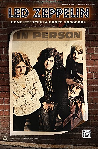 Led Zeppelin: Complete Lyric & Chord Songbook