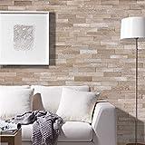 wodewa Holz Wandverkleidung Vintage Optik I 1m² Nachhaltige Echtholz Wandpaneele Moderne Wanddekoration Holzverkleidung Holzwand Wohnzimmer Küche Schlafzimmer V013