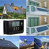 ELEGIANT LCD Display 30A PWM Solar Panel Regler Laderegler Solarmodul Regulator Laderegler 12V/24V 360W/720W Temperatur Regler Laden mit Dual USB Für Camper
