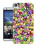 002316 - Collage Emoji Smiley Faces Cool Design Htc Desire