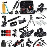 D&F Base Kit per accessori per sport esterni di base per Gopro Hero 6/5/4/3 + / 3 SJCAM e tutta la videocamera d'azione