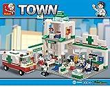 Sluban Lego Emergency Center