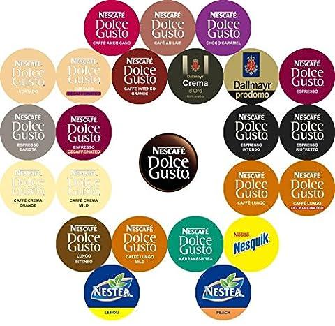Nescafé Dolce Gusto variété (24Sabores, 26gousses)