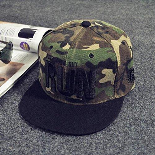 Imagen de xinantime sombrero, sombrero hip hop adolescentes  de béisbol ajustable unisex camuflaje  alternativa