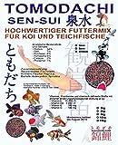 Koimix, Premium Koifuttermischung, 3 Color, Rot-Grün-Weiß, Teichfuttermix mit Spirulina, Astax, Paprika und Krillmehl, Tomodachi Sen-Sui Koifutter-Mix, 10kg (5mm Pelletgröße)