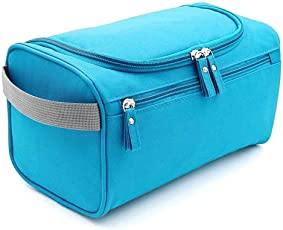 House of Quirk Hanging Fabric Travel Toiletry Bag Organizer and Dopp Kit (16 cm x 10.01 cm x 3 cm)