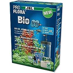JBL ProFlora® Bio 80 2 - Sistema de fertilización con Bio-Co₂ - Uso múltiple para acuariofilia