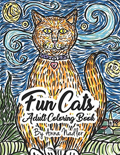 ing Book: 24 unique and fun cat illustrations for you to color! ()