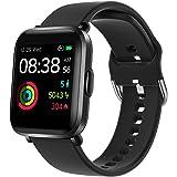 Smartwatch, YONMIG Orologio Fitness Uomo Donna, Smart Watch Touch con Saturimetro(SpO2)/Cardiofrequenzimetro da Polso, Fitnes
