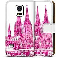 Samsung Galaxy S5 mini Tasche Hülle Flip Case Kirche Koelner Dom Koeln Dom