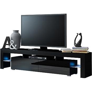 Homcom® TV Lowboard LED Fernsehtisch TV Board