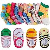 Best Girls Socks - Lictin 14 Pairs Anti-slip Toddler Socks Baby Infants Review
