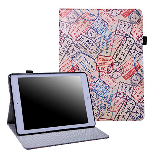 HDE-iPad-2017-Case-97-inch-Leather-Folio-Cover-Slim-Fit-Smart-shell-Multi-Angle-Vintage-Stand-for-New-iPad-2017-97-inch-Tablet