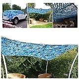 Filet de Camouflage pour Jardin, 2x3m 3x5m Écran Pare-Soleil Solaire Camo Shade...