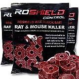 Roshield 900g Wax Block Bait for Rat & Mouse Killer Poison Control