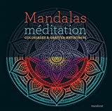 Mandalas méditation: Coloriages à gratter antistress...