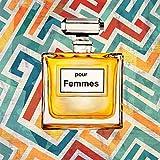 The Poster Corp Michelle Clair – Pour Femmes I Fine Art Print (60.96 x 60.96 cm)