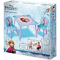 Preisvergleich für Eiskönigin Sitzgruppe Tisch + Stühle Kindermöbel Anna Elsa Olaf Disney Frozen 527FOZ