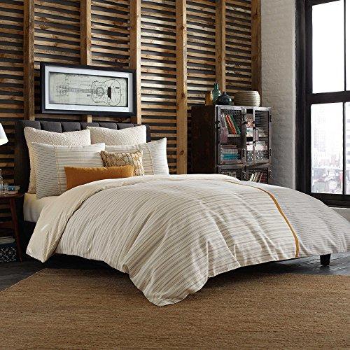 Studio 3B Twin Size Bettbezug aus der Everett Betten Kollektion von Kyle SCHUNEMAN in Eine Creme Farbe Muster - Lässige Eleganz-kollektion
