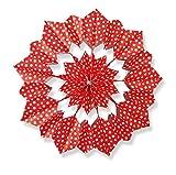 Papiertüten für Butterbrottüten-Sterne 10x22 cm VERSCH.MOTIVE (Sterne, rot)