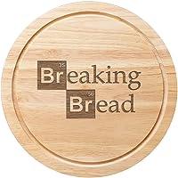 Tagliere per pane in legno  25 cm  motivo Breaking Bad  versione inglese