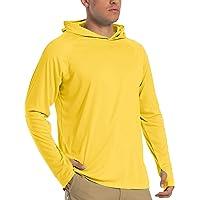 Tacvasen Felpa Con Cappuccio Uv Estate Protezione Solare Camicie Con Cappuccio Rashguard Manica Lunga Top Per Uomo