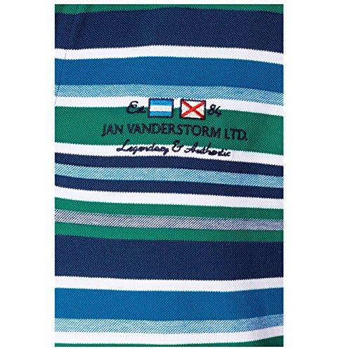 JAN VANDERSTORM Herren Poloshirt HRANE in Übergröße | Große Größen | Plus Size | Big Size | XL - 7XL Grün