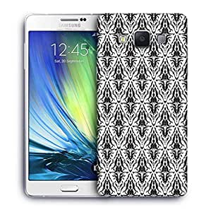 Snoogg Dark Mixed Pattern Designer Protective Phone Back Case Cover For Samsung Galaxy ON5