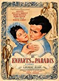Les Enfants Du Paradis reproduction photo affiche du film 40 x 30 cm