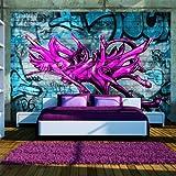 murando - Fototapete 200x140 cm - Vlies Tapete - Moderne Wanddeko - Design Tapete - Wandtapete - Wand Dekoration - Graffiti 10110905-5