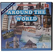 Around The World - Fun & Learning CD- Get Info On Collection Of Colosseum,Eiffel Tower,Great Wall Of China,Taj Mahal,Leaning Tower Of Pisa & Many More.