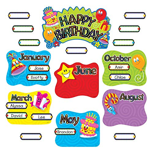 Trend Happy Birthday Mini Bulletin Board Set
