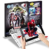 #8: Fiction Wold - Avengers Augmented Reality Smart Coloring (Reusable)