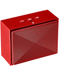 AmazonBasics Mini Enceinte Bluetooth portable 3W - Rouge