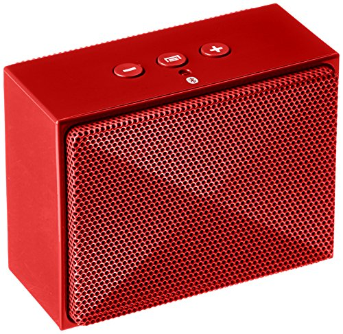 amazonbasics mini enceinte bluetooth portable 3w rouge. Black Bedroom Furniture Sets. Home Design Ideas